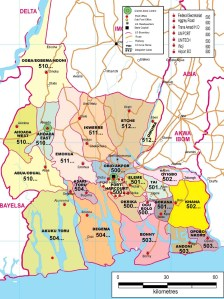 Rivers-State-Postcode-Map