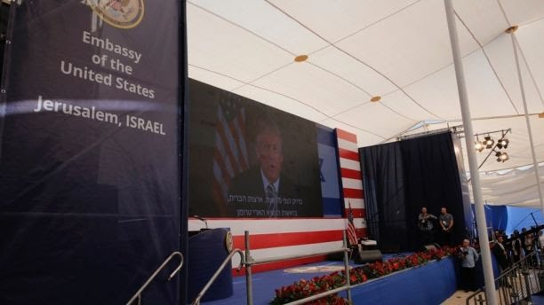 USA Embassy in Jerusalem official Opening